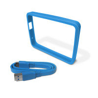 WD Picasso Grip Pack For use with WD Ultra portable Hard Drive Sky