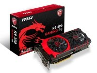 MSI Radeon R9 390 Gaming 8GB GDDR5 Dual-Link DVI-D HDMI DisplayPort PCI-E Graphics Card