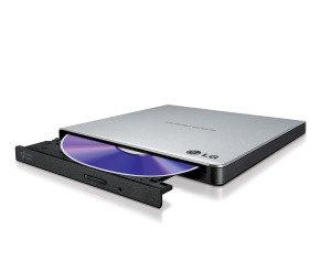LG Ultra Portable Slim USB DVD-RW Silver