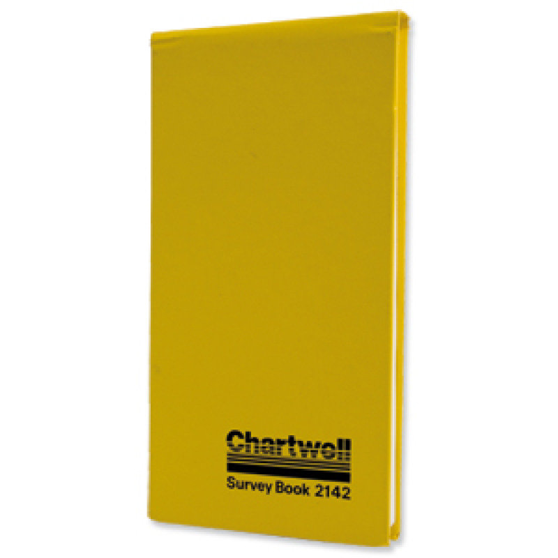 Chartwell Top Opening Field Book - 80 Pages