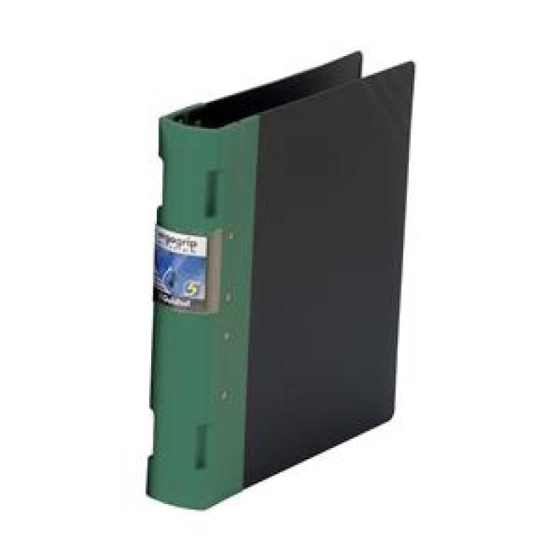 Guildhall GLX Ergogrip Ring Binder - Black/ Green