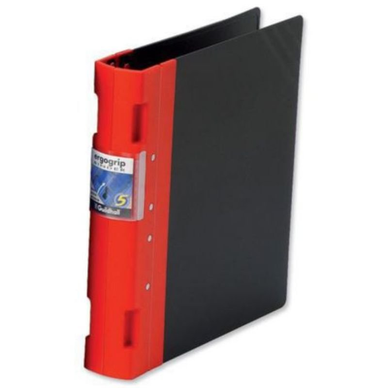 Guildhall GLX Ergogrip Ring Binder - Red