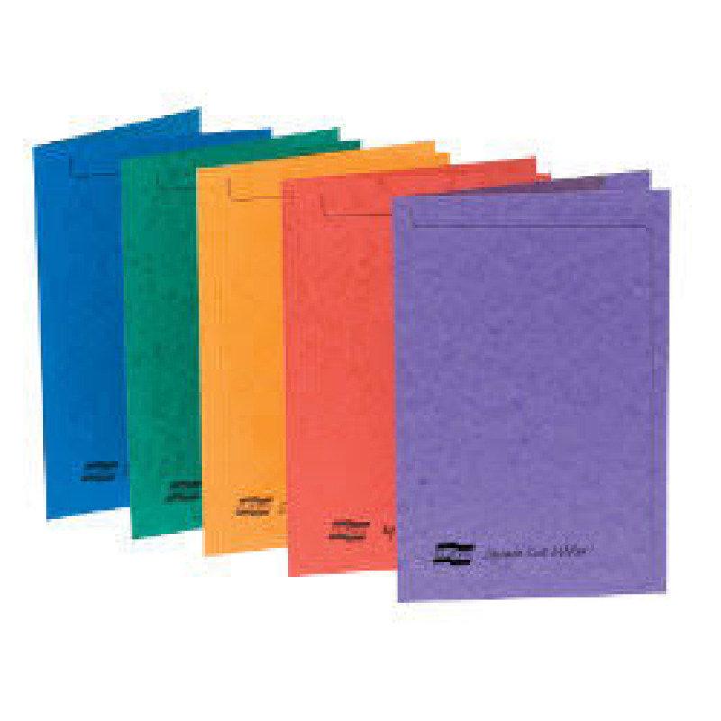 Europa Square Cut A4 Folder - Assorted