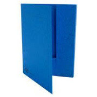 Europa Threefold 3-flap File Blue - Pack of 25