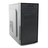 CiT MX-A07 Black Micro ATX Chassis Black Interior 500W PSU USB3 Cable Management