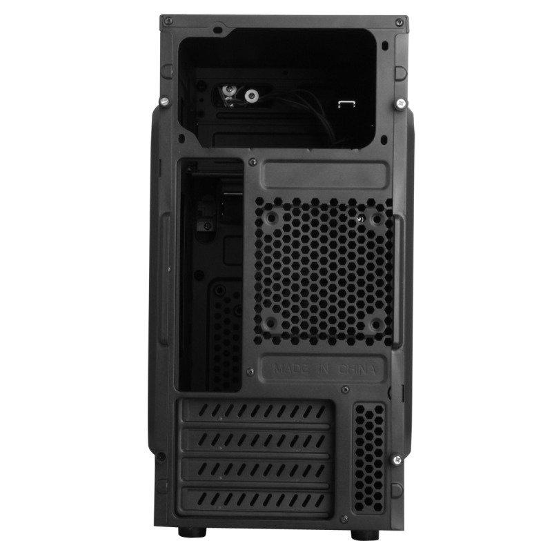 CiT MX-A07 Black Micro ATX Chassis Black Interior 500W PSU USB3 Cable Management
