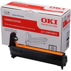 OKI C5850/C5950 Black Drum
