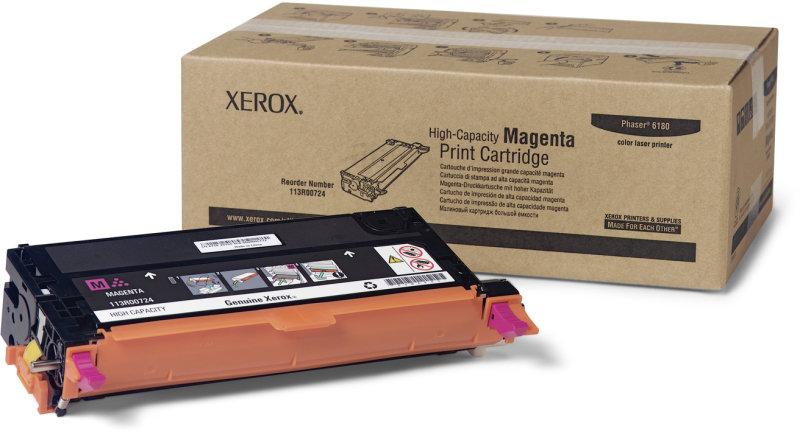 *Xerox 113R00724 High Yield Magenta Toner Cartridge