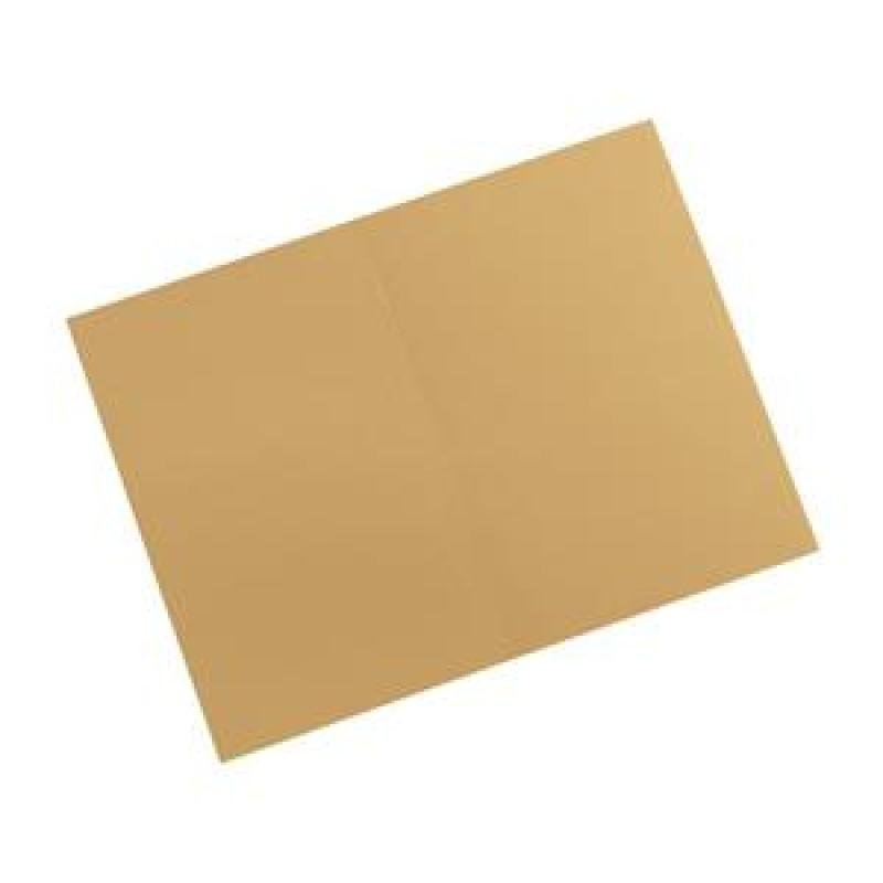 Guildhall Square Cut Folders Manilla Foolscap - Yellow
