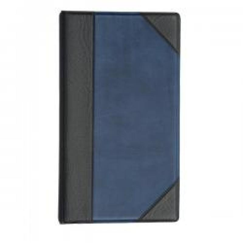 Image of Goldline Business Card Binder A5 - Blue