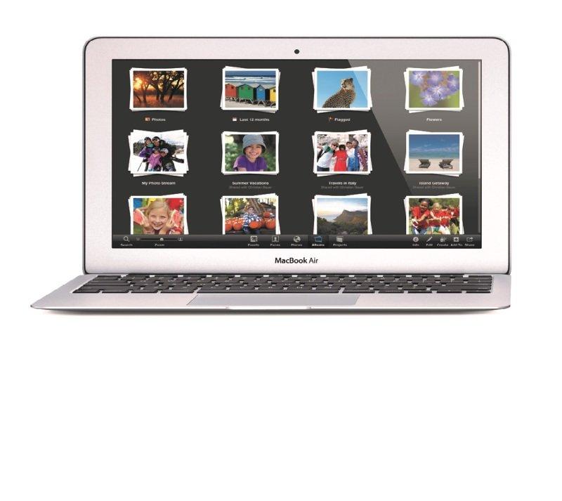 "Image of Apple MacBook Air, Intel Core i5 1.6GHz, 4GB RAM, 256GB Flash, 13.3"" Display, No ODD, Intel HD 6000, Bluetooth 4.0, Webcam, OS X Yosemite"