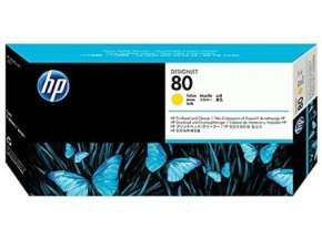 HP 80 Yellow Printhead with Cleaner - C4823A