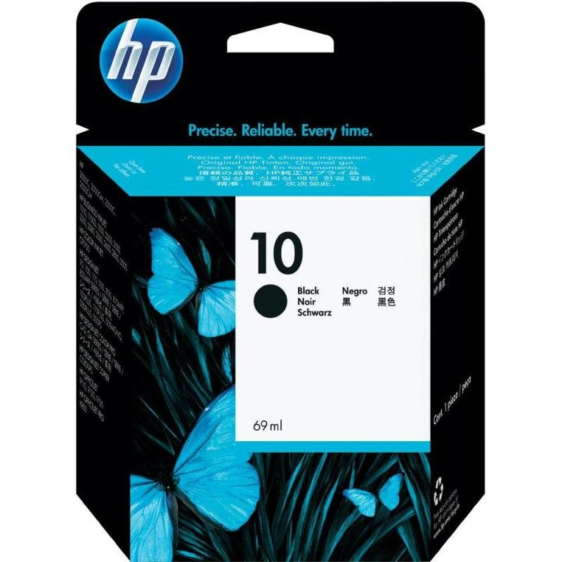 HP 10 Black Print cartridge  C4844A