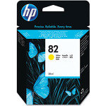 HP 82 Yellow Original Ink Cartridge - High Yield 69ml - C4913A