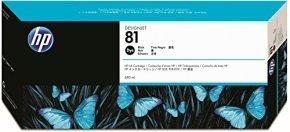 HP 81 680ml Black Ink Cartridge - C4930A