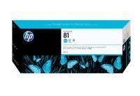 HP 81 Cyan Original Ink Cartridge - Standard Yield 680ml - C4931A