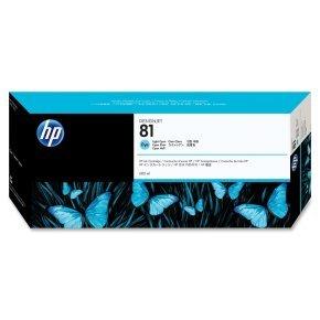 HP 81 Light Cyan Ink Cartridge - C4934A