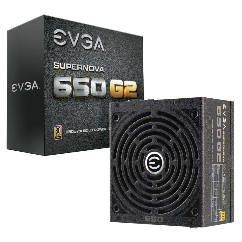Image of EVGA 650W G2 Fully Modular 80+ PSU