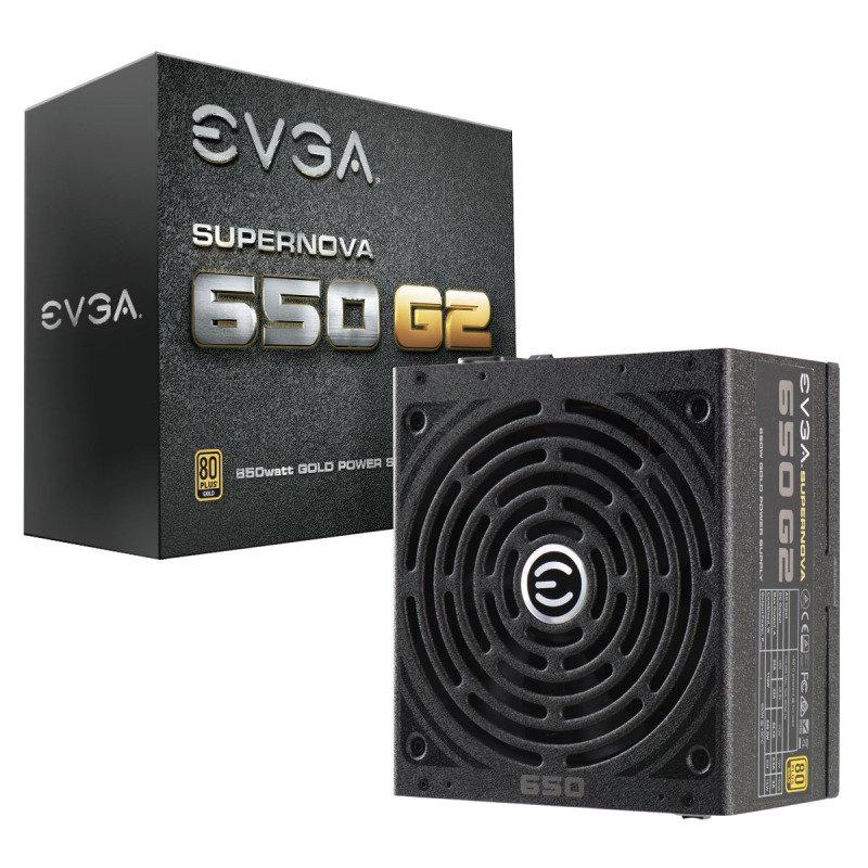 EVGA 650W G2 Fully Modular 80+ PSU