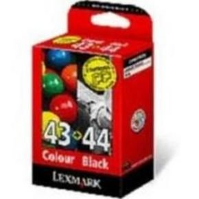 Lexmark 43XL and 44XL Black and Colour Ink Cartridge Combo Pack