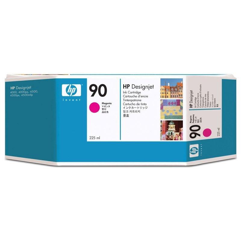 HP 90 Magenta Ink Cartridge  225ml