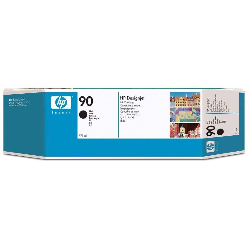 HP 90 775ml Black Ink Cartridge  3 Pack