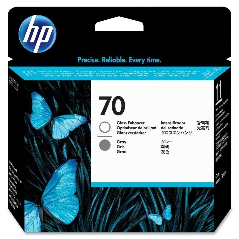 Hp 70 Gloss Enhancer & Gray Printhead  C9410A