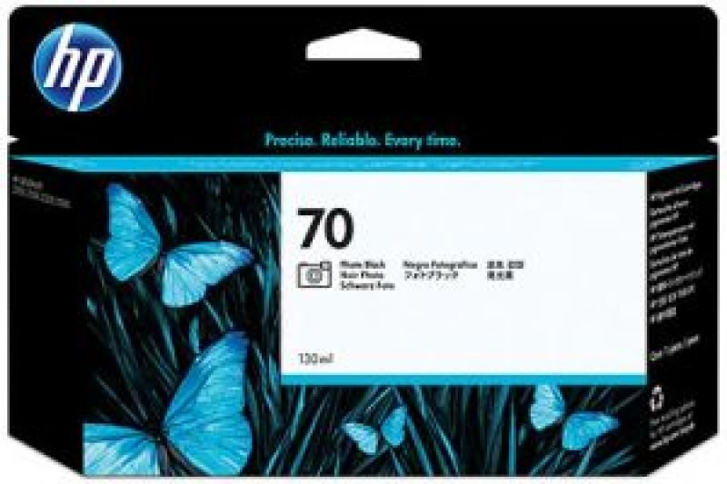 HP 70 Photo Black OriginalInk Cartridge - Standard Yield 130ml- C9449A