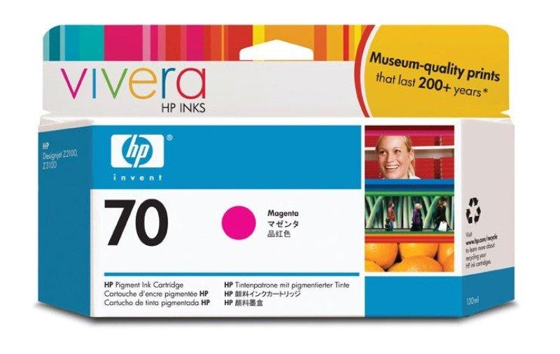 HP 70 Magenta OriginalInk Cartridge - Standard Yield130ml - C9453A