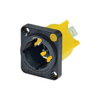 *Neutrik NAC3PMX 16A Male Powercon True Chassis Connector with Twist Lock System