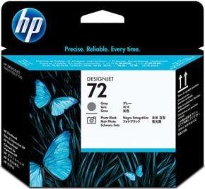 HP 72 Grey And Photo Black Printhead - C9380A