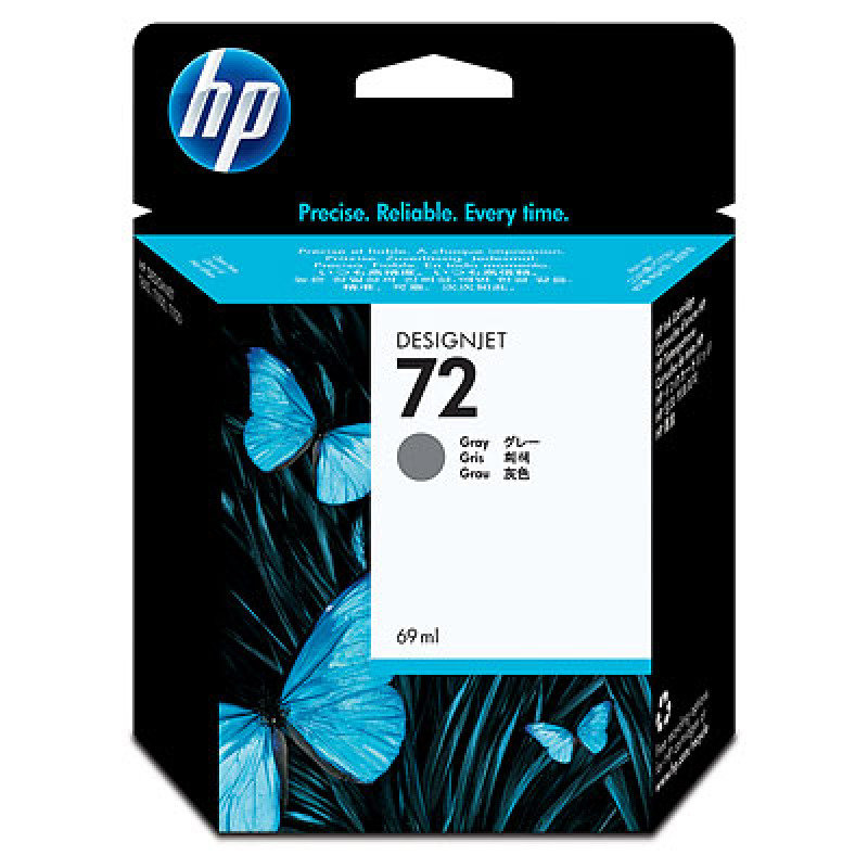 HP 72 69ml Grey Ink Cartridge with Vivera Ink  C9401A