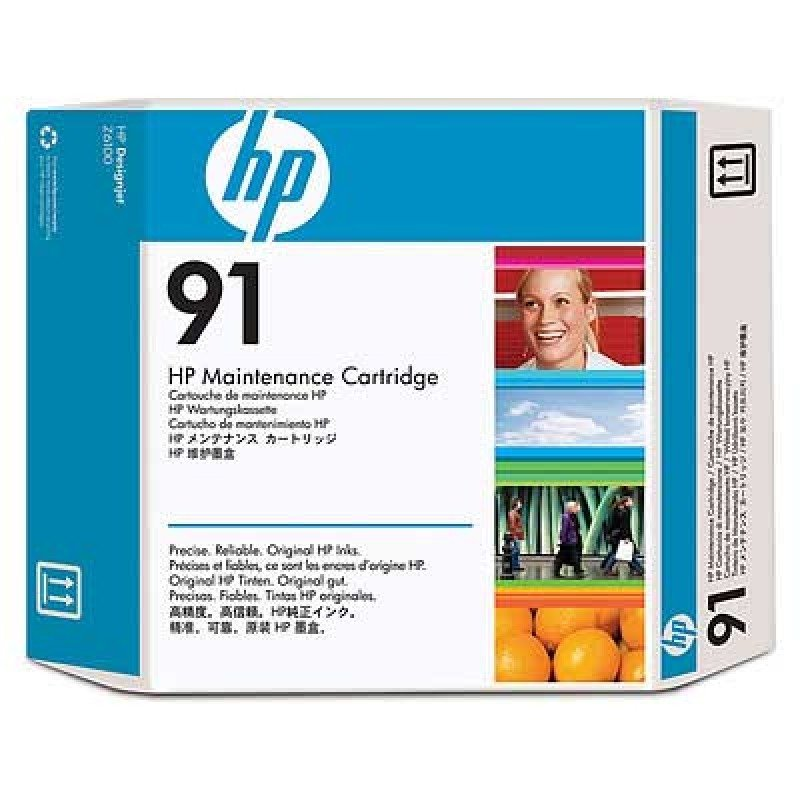 HP 91 Original Maintenance Cartridge For use with - HP DesignJet Z6100's - C9518A