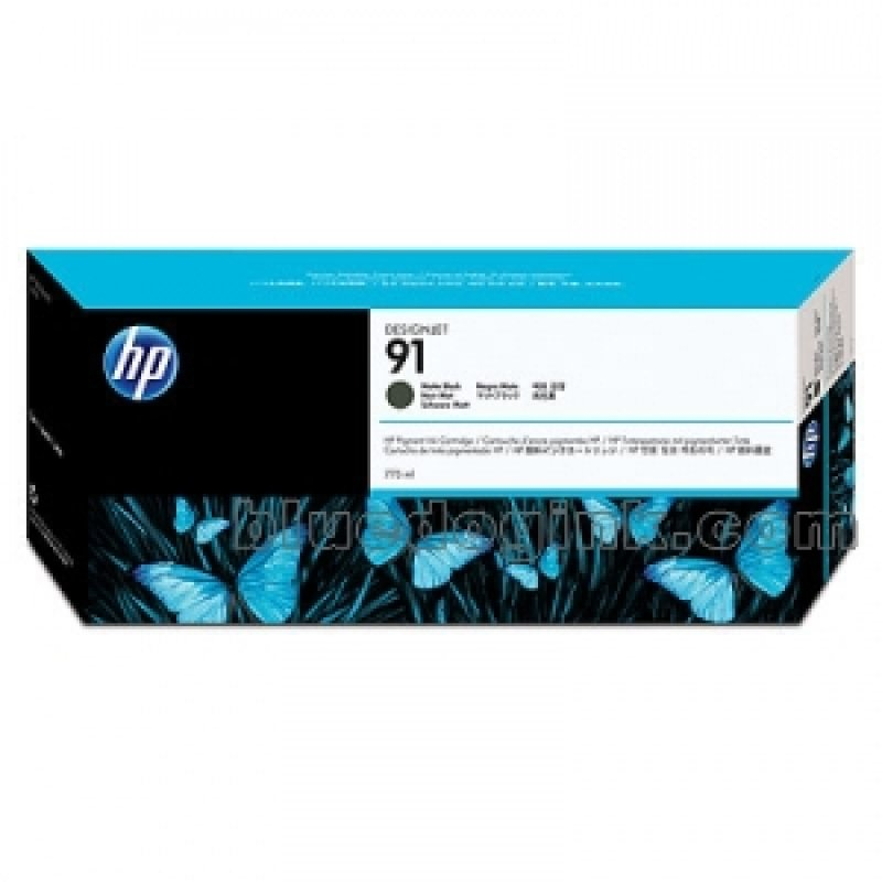 HP 91 Matte Black OriginalInk Cartridge - Standard Yield 775ml - C9464A