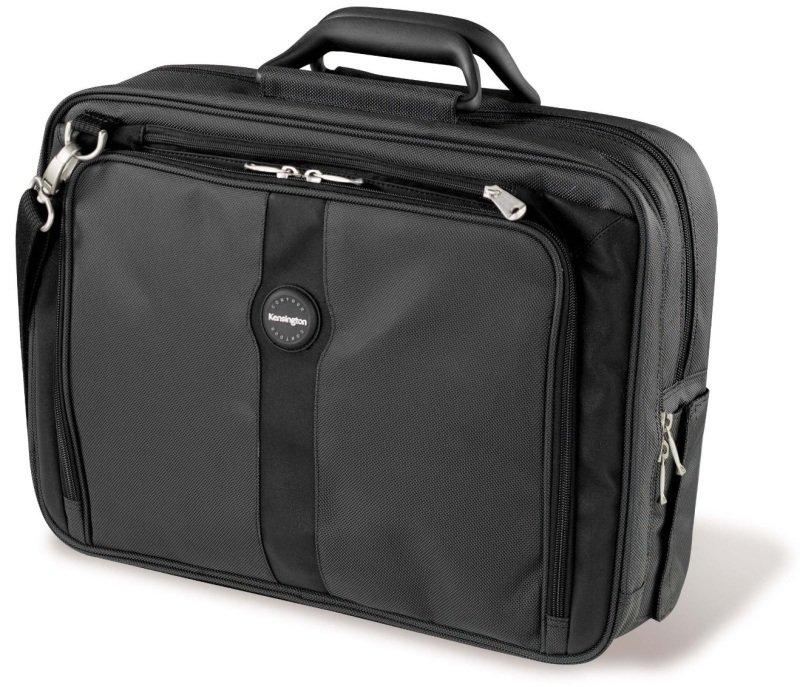 Kensington Contour Pro Carry Case Nylon Black For 17&quot Notebooks