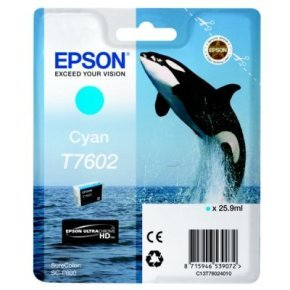 Epson T7602 Cyan Ink Cartridge