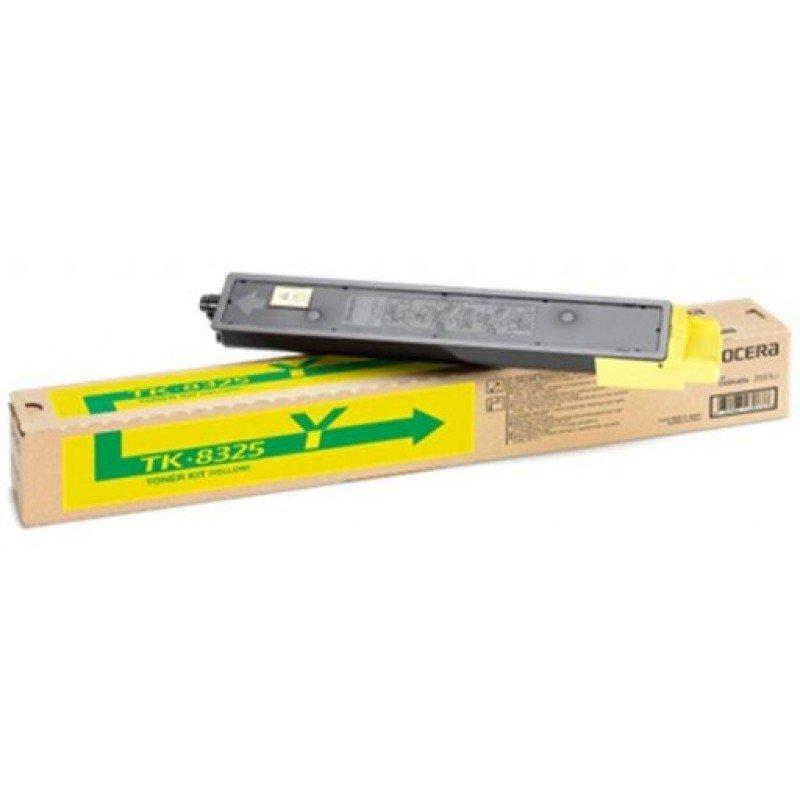 Kyocera 2551ci Yellow Toner Cartridge