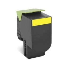 Lexmark 802XY High Yield Yellow Toner cartridge