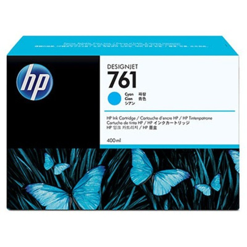 HP No 761 Cyan Ink Cartridge - CM994A