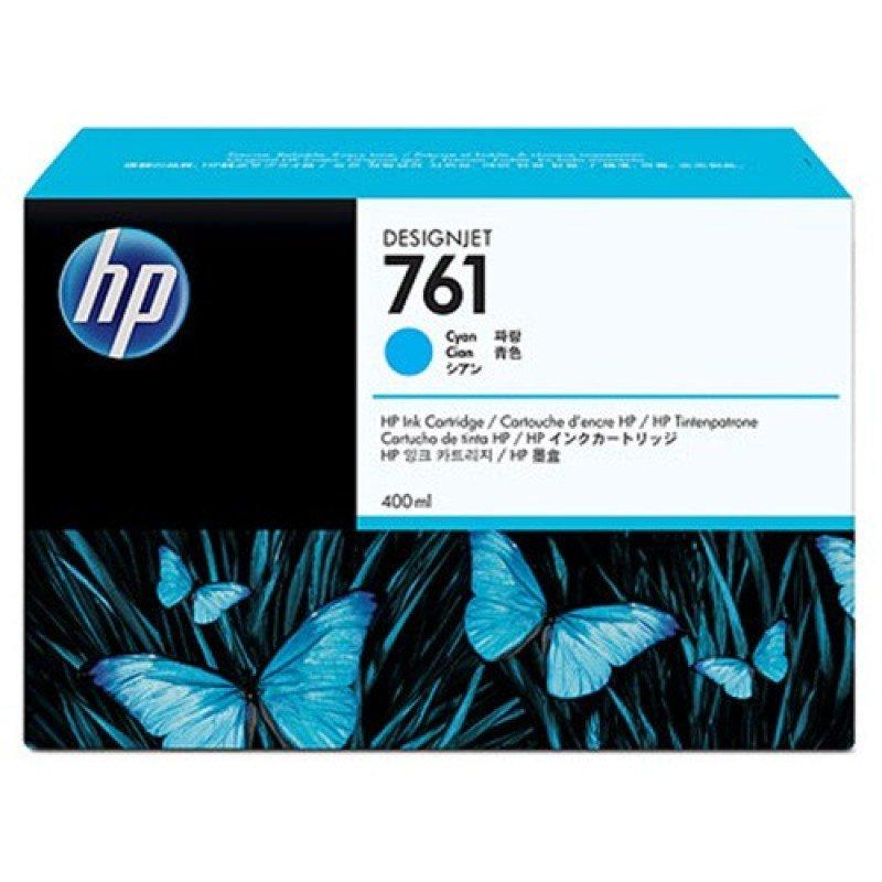 HP 761 Cyan OriginalInk Cartridge - Standard Yield 400ml - CM994A