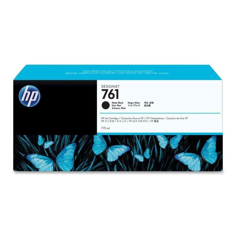 HP 761 Matte Black OriginalInk Cartridge - High Yield775ml - CM997A