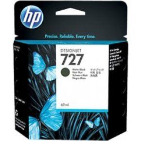 HP  Matte Black 727 300 ml Ink Cartridge - C1Q12A