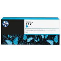 HP 773C Cyan Original Ink Cartridge - High Yield	775ml - C1Q42A