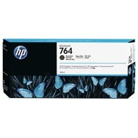 HP 764 Matte Black Original Designjet Ink Cartridge - Standard Yield 300ml - C1Q16A