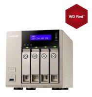 QNAP TVS-463 8TB (4 x 2TB WD Red) 4GB RAM 4 Bay Desktop NAS