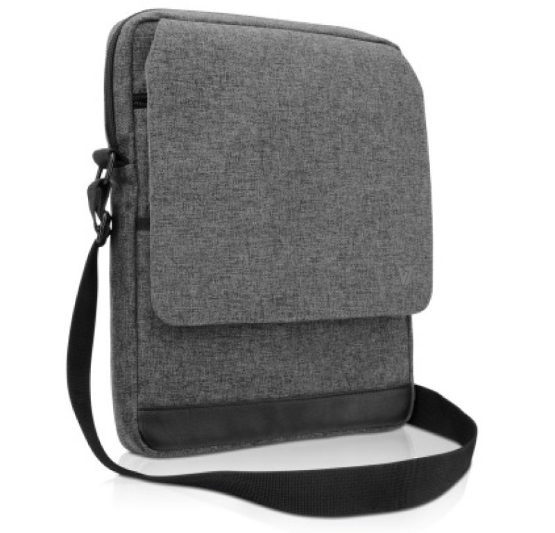 Image of V7 Metro Messenger Bag - Tablets Pc Up To 10.1 Inch Grey