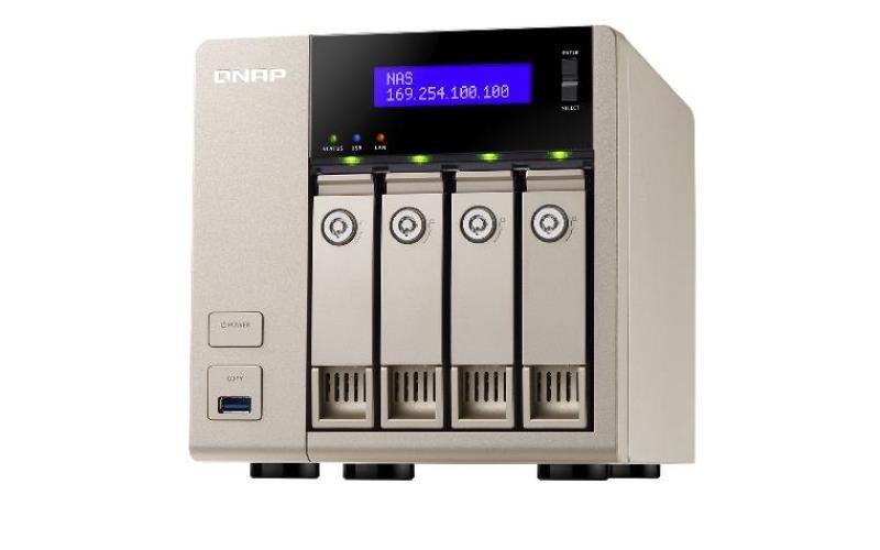 Image of QNAP TVS-463 (4GB RAM) 4 Bay Desktop NAS Enclosure