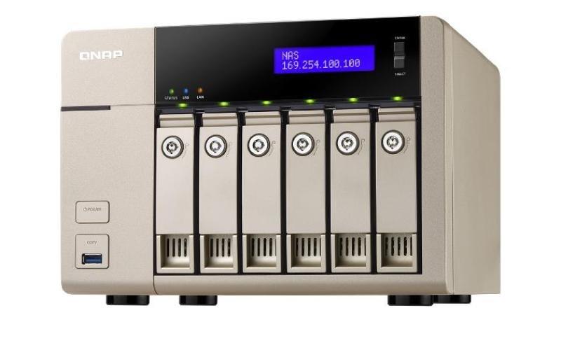 QNAP TVS-663 6-bay (no disks) Desktop NAS Enclosure