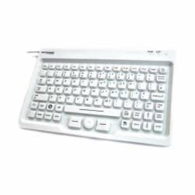 Accuratus AccuMed USB Mini Sealed IP67 Keyboard with Mousepad