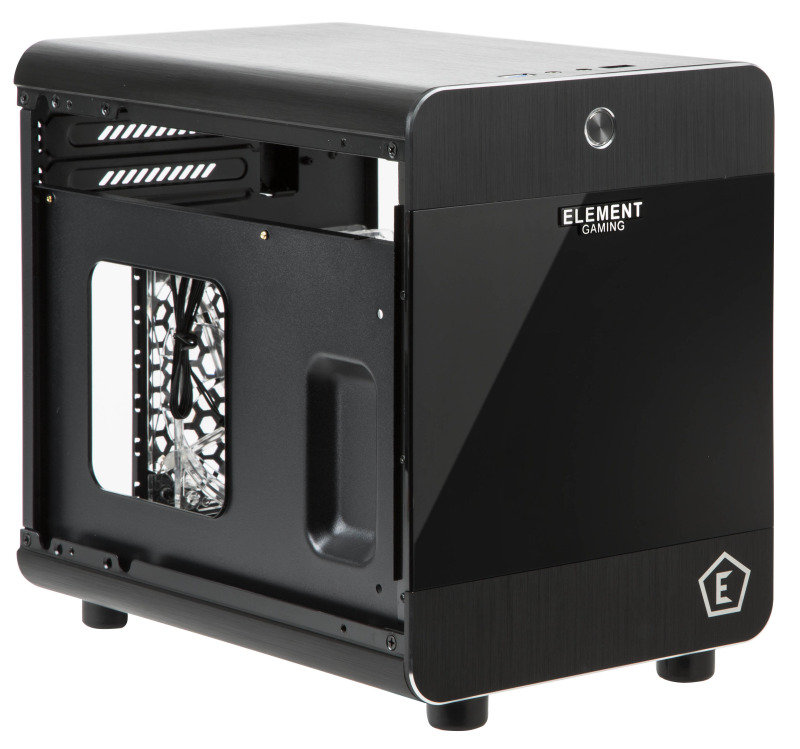 Element Gaming Atomic ITX Aluminium Computer Case